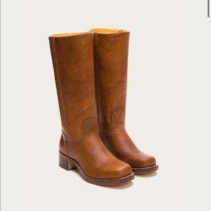 Tan Frye boot